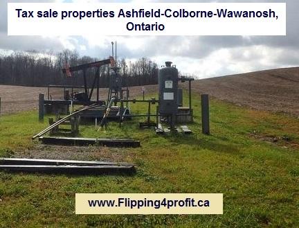 Tax sale properties Ashfield-Colborne-Wawanosh, Ontario