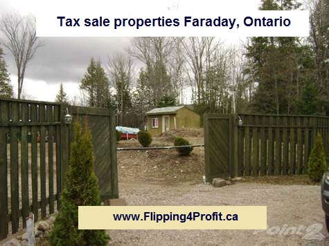 Tax sale properties Faraday, Ontario