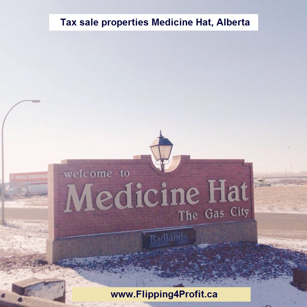 Tax sale properties Medicine Hat, Alberta