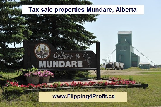 Tax sale properties Mundare, Alberta