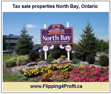 Tax Sale properties North Bay, Ontario