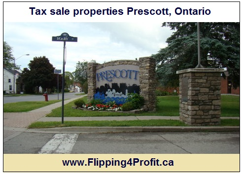 Tax sale properties Prescott, Ontario