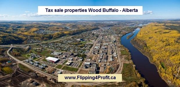 Tax sale properties Wood Buffalo - Alberta