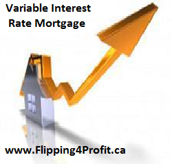 Variable interest rate mortgages