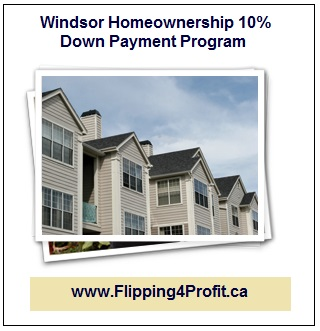 Windsor Homeownership 10% Down Payment Program