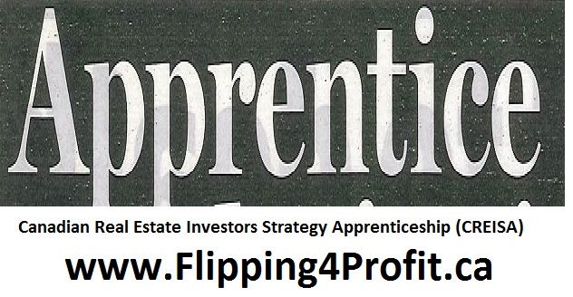 Canadian real estate investment strategy apprenticeship