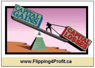 Capital gains versus capital losses - Flipping4Profit ca