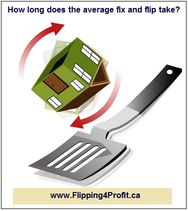 How long does the average fix and flip take?