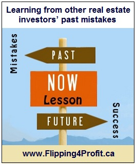 Learning from other real estate investors' past mistakes
