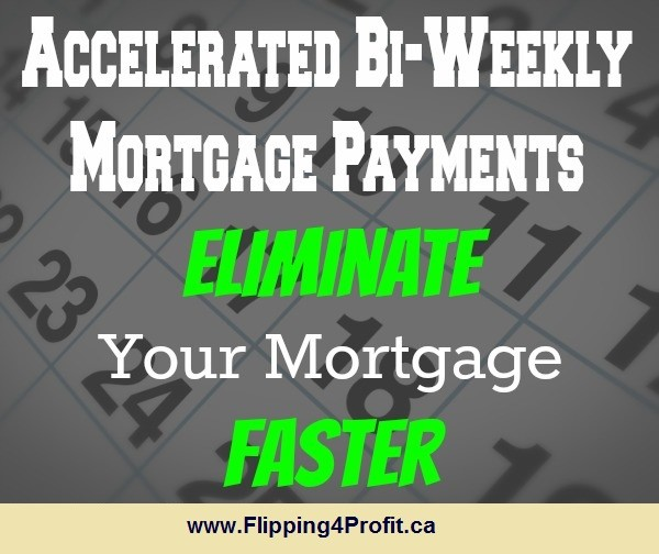 Make accelerated biweekly payments instead of monthly