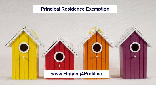 Principal Residence Exemption (PRE)