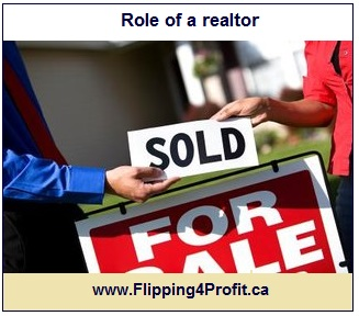 Role of a realtor
