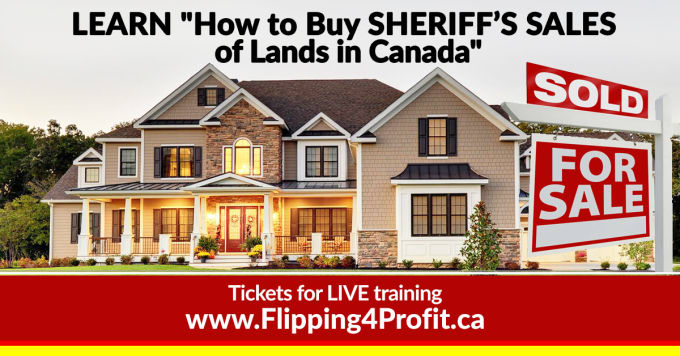 How to buy Sheriff's Sale of Lands in Canada