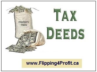 Tax deed