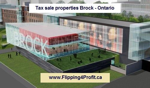 Tax sale properties Brock - Ontario