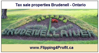 Tax sale properties Brudenell - Ontario