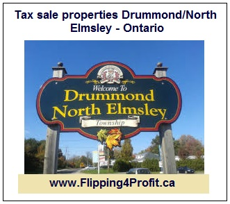 Ontario Tax sale properties - Drummond/North Elmsley