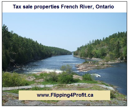 Tax sale properties French River, Ontario
