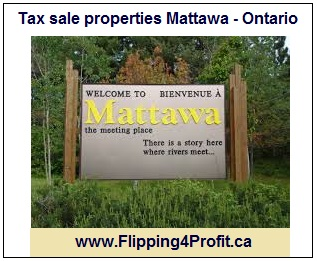 Tax sale properties Mattawa - Ontario