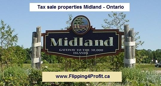 Ontario tax sale properties - Midland