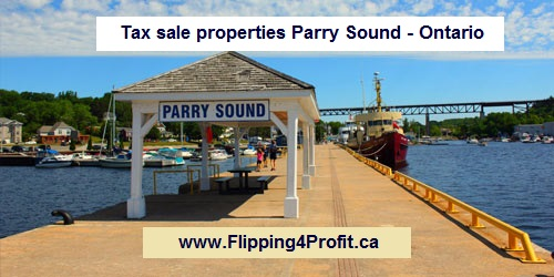 Tax sale properties Parry Sound - Ontario