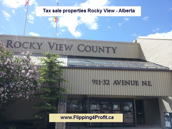Tax sale properties Rocky View - Alberta