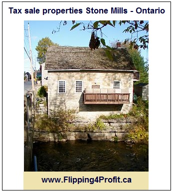 Tax sale properties Stone Mills - Ontario