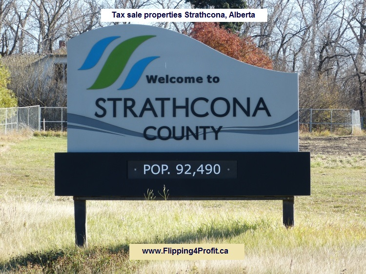 Tax sale properties Strathcona - Alberta