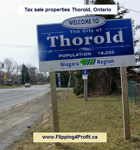 Tax sale properties Thorold, Ontario