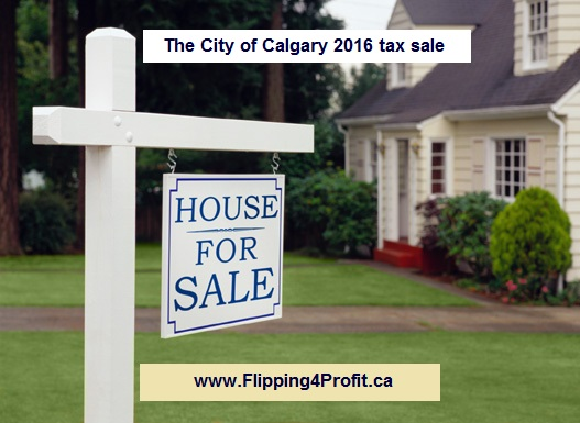 The city of Calgary 2016 tax sale