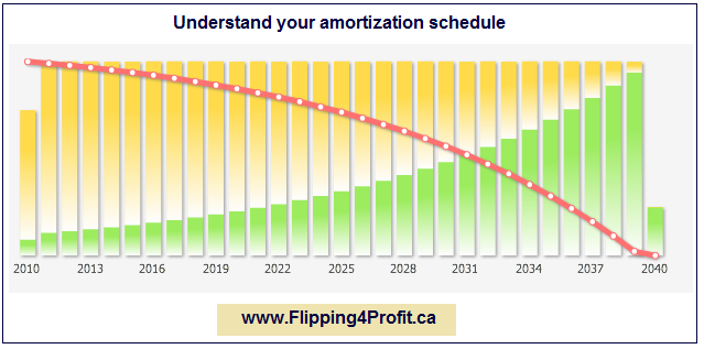 Understand your amortization schedule