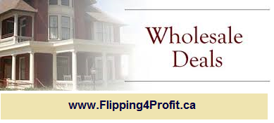 What are wholesale properties in Canada?