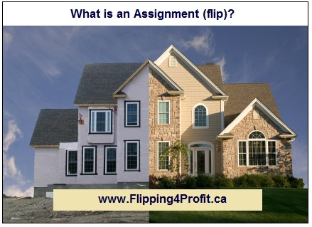 Flipping Houses with Assignment Clauses