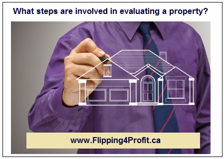 What steps are involved in evaluating a property?