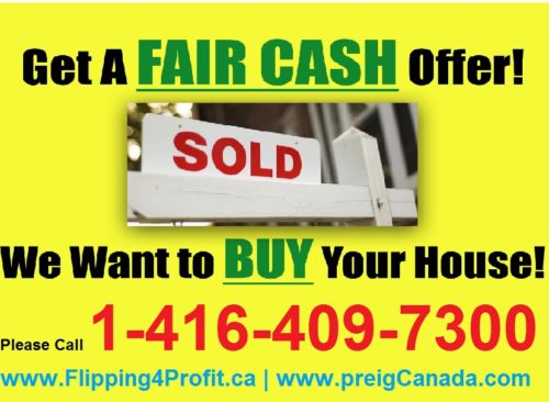 Get a Fair Cash Offer