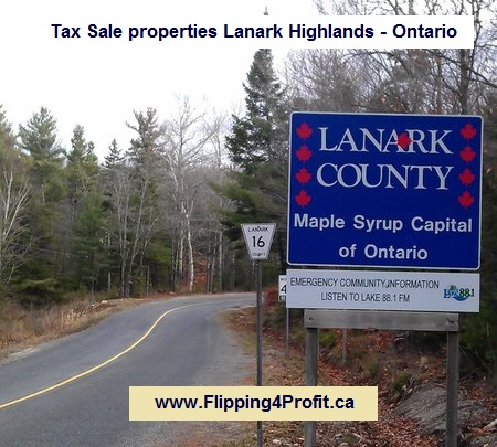 Tax sale properties Lanark Highlands - Ontario