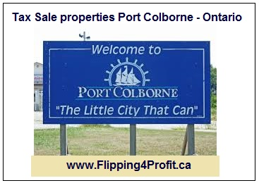 Tax sale properties Port Colborne - Ontario