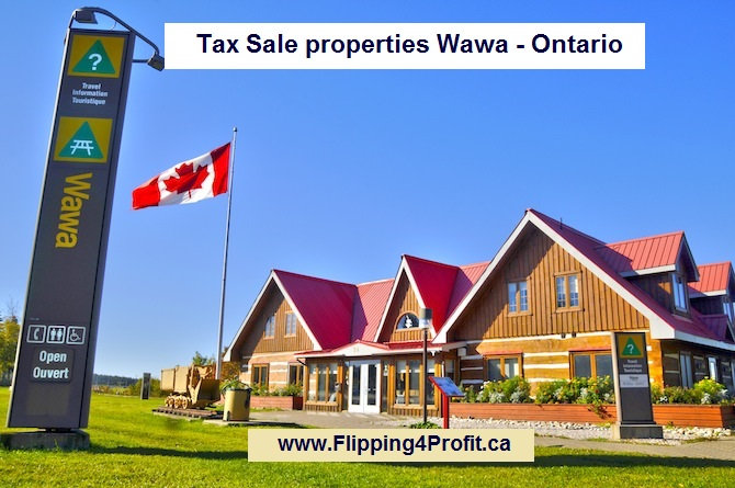 Tax sale properties Wawa - Ontario