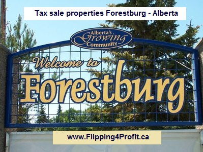 Tax sale properties Forestburg - Alberta