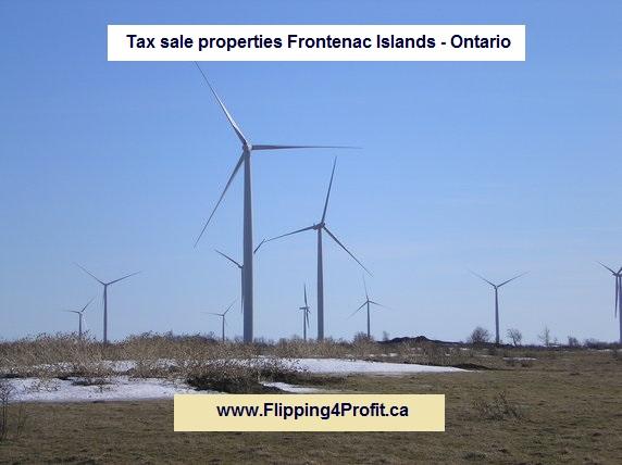 Tax sale properties Frontenac Islands - Ontario