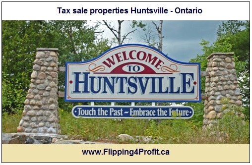 Tax sale properties Huntsville - Ontario