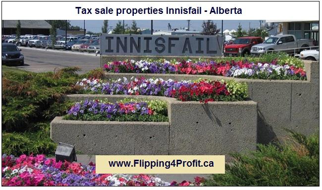 Tax sale properties Innisfail - Alberta