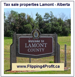 Tax sale properties Lamont - Alberta