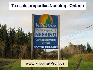Tax sale properties Neebing - Ontario