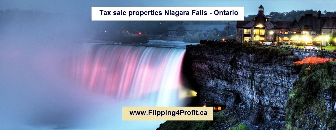 Tax sale properties Niagara Falls - Ontario