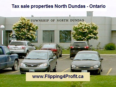 Tax sale properties North Dundas - Ontario