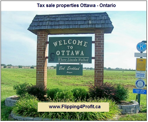 Tax sale properties Ottawa - Ontario