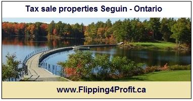 May 4, 2016 Tax sale properties Seguin - Ontario