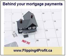 Behind your mortgage payments