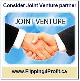 Consider Joint Venture partner